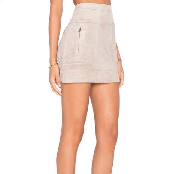 2f71db2cbd BCBGMaxAzria Skirts | Bcbg Maxaria Faux Suede Mini Skirt | Poshmark